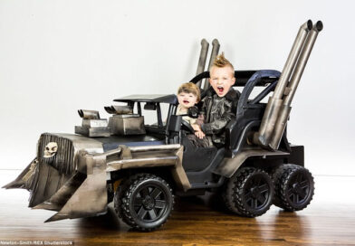 10 Awesome Parents That Created Amazing Costumes And More For Their Kids